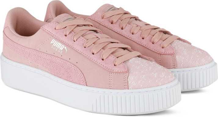 2a8e3af6c11 Puma Sneakers For Women - Buy Peach Beige-Puma White Color Puma ...