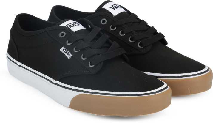 Vans Atwood Low Gum Bumper Sneaker Black White