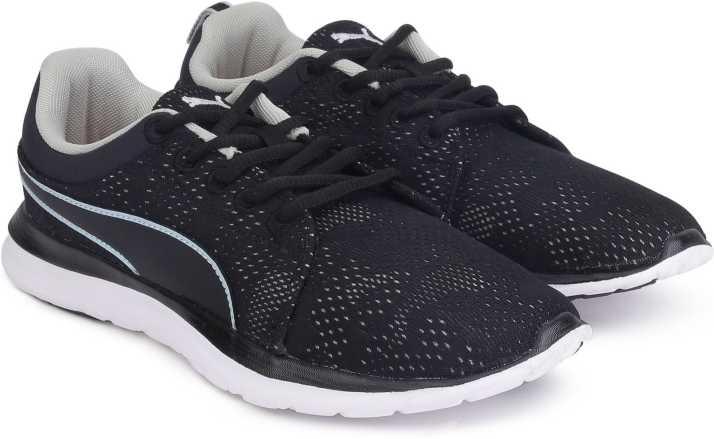 3727250c146c1c Puma Flex Camo Mesh IDP Running Shoes For Men - Buy Puma Black-Gray ...