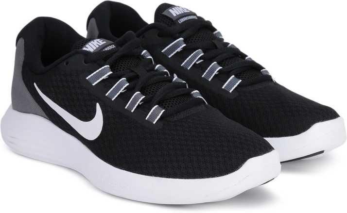 224812dd083d8 Nike LUNARCONVERGE Running Shoes For Men - Buy BLACK WHITE-DARK GREY ...
