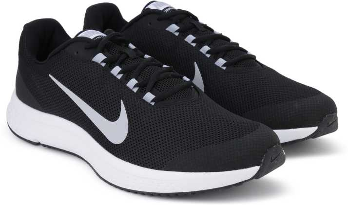 7cfb4ae5b78d0 Nike RUNALLDAY Running Shoes For Men - Buy BLACK WOLF GREY-WHITE ...