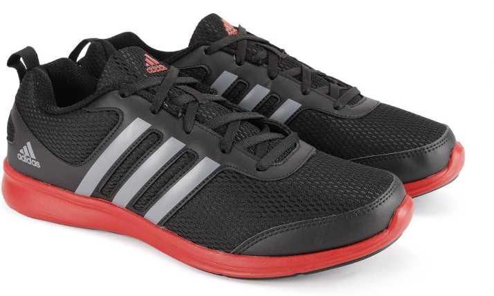 aa27e5f28b6f ADIDAS YKING M Running Shoes For Men - Buy BLACK VISGRE SCARLE Color ADIDAS  YKING M Running Shoes For Men Online at Best Price - Shop Online for  Footwears ...