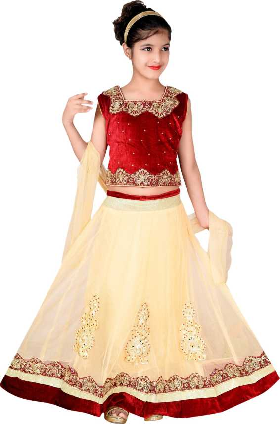 ee11fe320d Sky Heights Girls Lehenga Choli Ethnic Wear Embroidered Lehenga Choli Price  in India - Buy Sky Heights Girls Lehenga Choli Ethnic Wear Embroidered  Lehenga ...