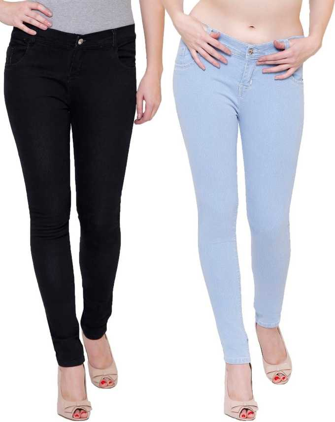 voluntario para jugar La nuestra  Nik 'n' Vil Slim Women Multicolor Jeans - Buy Nik 'n' Vil Slim Women  Multicolor Jeans Online at Best Prices in India | Flipkart.com