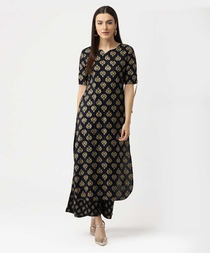 721cd4b8a Libas Women Kurta and Palazzo Set - Buy Libas Women Kurta and Palazzo Set  Online at Best Prices in India