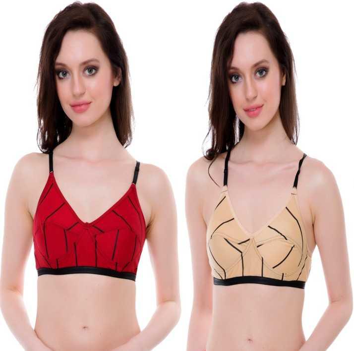 2dddebfb46c9b NC Beautiful Best Quality Lovable Maroon Cream Combo Women s T-Shirt ...