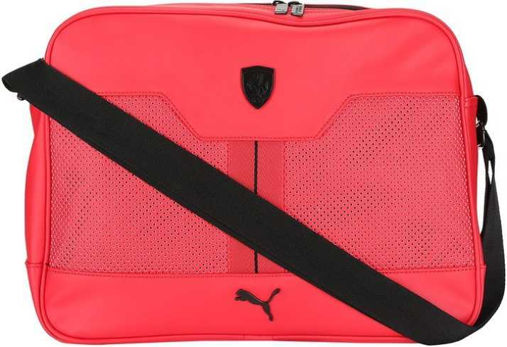 8a19ed25026f Buy Puma Sling Bag Red Online   Best Price in India