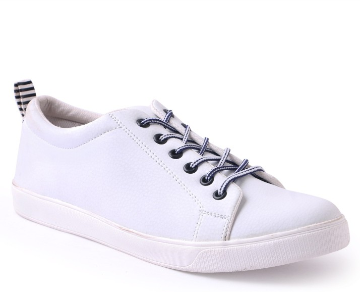 Shoe Mate White Casual Shoes Sneakers