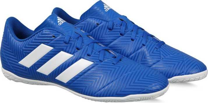 buy popular de3ed 68714 ADIDAS NEMEZIZ TANGO 18.4 IN Football Shoes For Men (Blue)