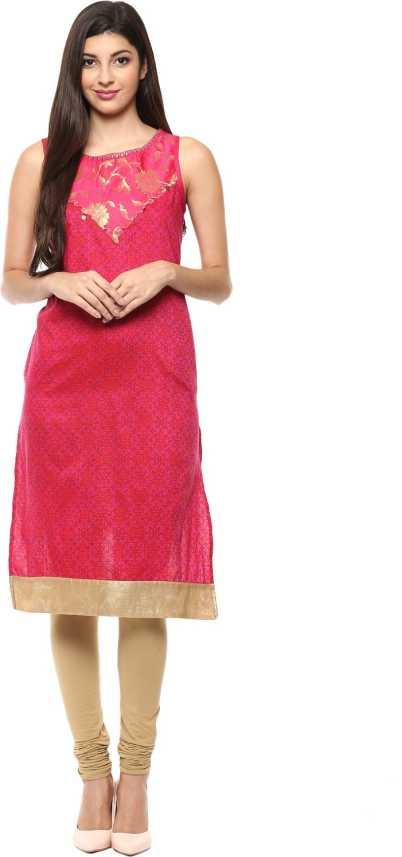 d285a064f8f Rangmanch by Pantaloons Women Printed Straight Kurta - Buy Rangmanch ...