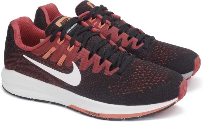 b2f990ba638 Nike AIR ZOOM STRUCTURE 20 Running Shoes For Men (Multicolor). Special price