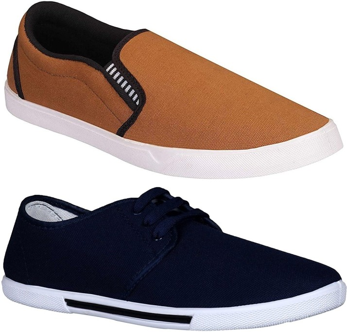Chevit Combo Pack of 2 Casual Shoes
