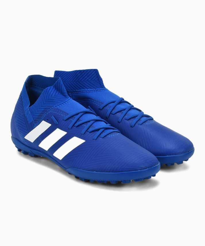 brand new 572c1 73631 ADIDAS NEMEZIZ TANGO 18.3 TF Football Shoes For Men (Blue)