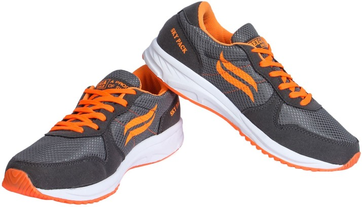 Seega Gold Marathon 01 Grey and Orange
