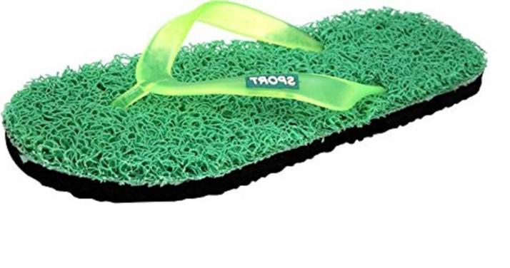 LDHSATI Boys Grass Green Slippers