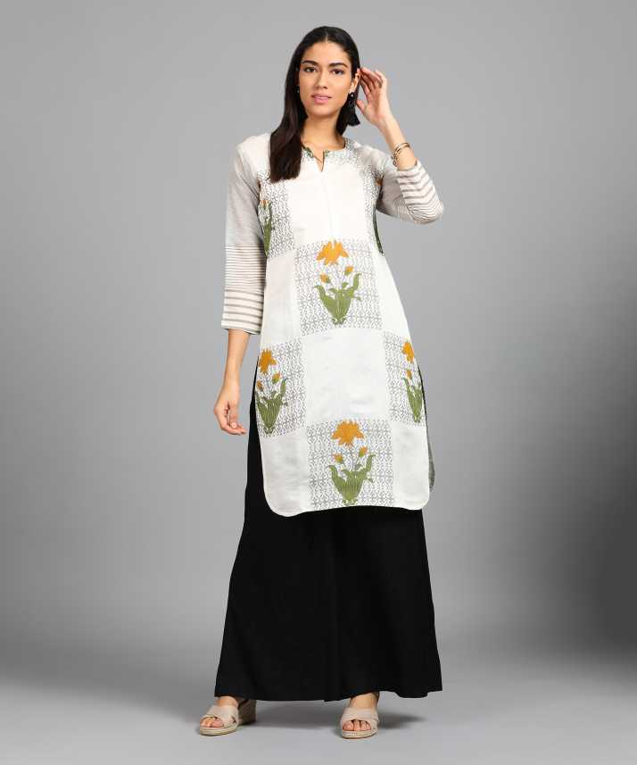 bd579b46d8 Soch Casual Printed Women's Kurti - Buy White Soch Casual Printed Women's  Kurti Online at Best Prices in India | Flipkart.com