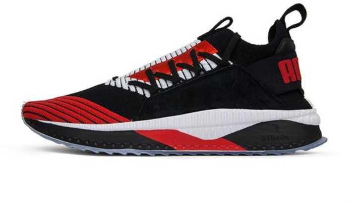 ad480c925c93 Puma Evoknit TSUGI Jun Cubism Black Red Walking Shoes For Men - Buy ...