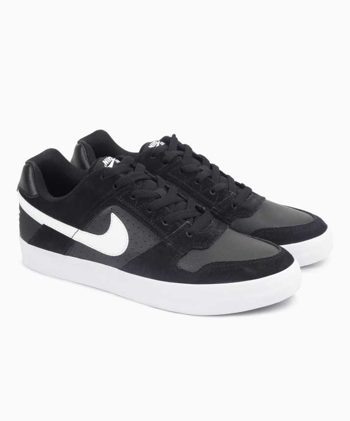 espontáneo Monasterio creer  Nike Sb Delta Force Vulc Sneakers For Men - Buy BLACK/WHITE-ANTHRACITE-WHITE  Color Nike Sb Delta Force Vulc Sneakers For Men Online at Best Price - Shop  Online for Footwears in India