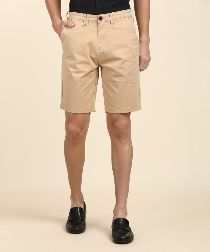 """MEN`S NEW WRANGLER CASUAL COTTON CHINO SHORTS SIZE 32/"""" WAIST BROWN"""