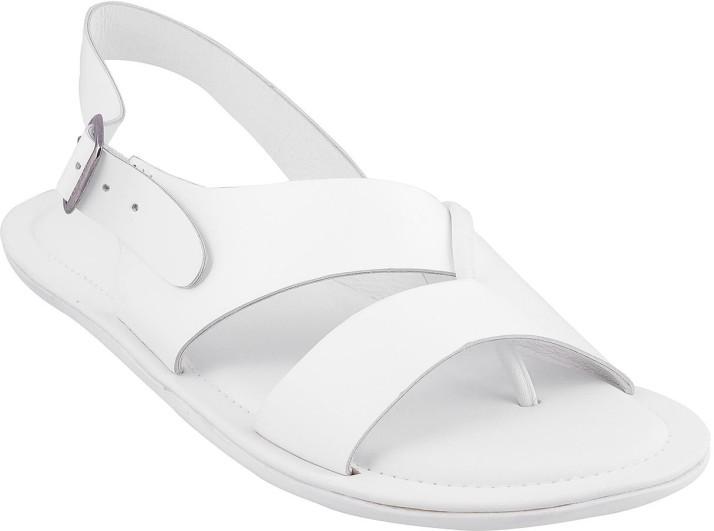 Mochi Men White Sandals - Buy Mochi Men