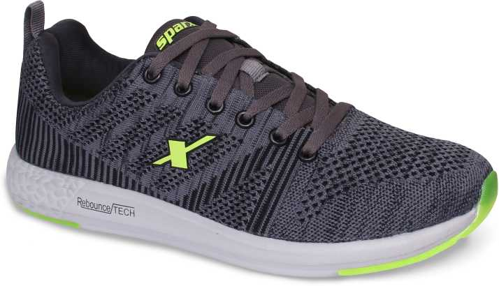 a3160f16e4bf8c Sparx Men SM-379 Grey Fluorescent Green Running Shoes For Men - Buy ...