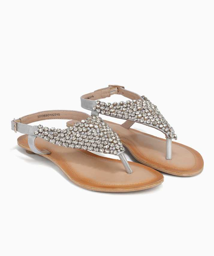1413c18c0a93c Catwalk Women SILVER Sandals - Buy SILVER Color Catwalk Women SILVER Sandals  Online at Best Price - Shop Online for Footwears in India