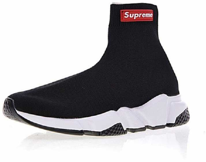 107e5c5b66ce8 Supreme X Balenciaga Speed Trainer Sneakers For Men - Buy Supreme X Balenciaga  Speed Trainer Sneakers For Men Online at Best Price - Shop Online for ...