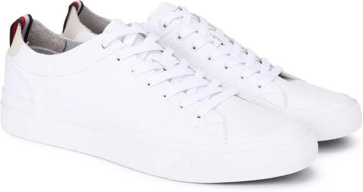 6ef4b194d Tommy Hilfiger UNLINED LOW CUT LEATHER Sneakers For Men - Buy Tommy  Hilfiger UNLINED LOW CUT LEATHER Sneakers For Men Online at Best Price -  Shop Online for ...
