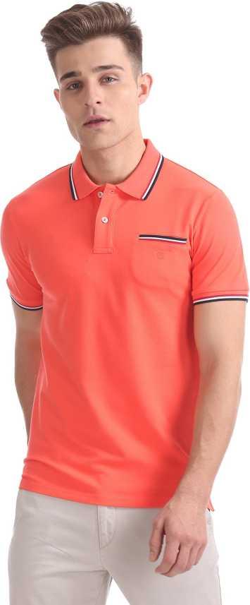nyaste högmode nya foton Gant Solid Men Polo Neck Orange T-Shirt - Buy Gant Solid Men Polo Neck Orange  T-Shirt Online at Best Prices in India | Flipkart.com