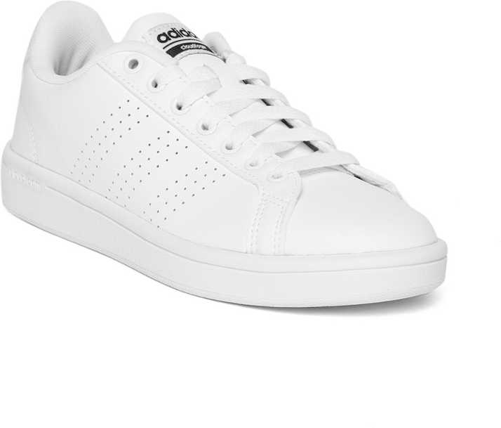 Buy Adidas White Courtset Shoes for Girls Online in India