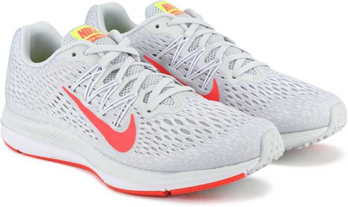new style 2e8c0 e8c96 Nike WMNS ZOOM WINFLO 5 Running Shoes For Women (Grey)