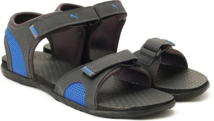 Puma Men Black Sports Sandals - Buy