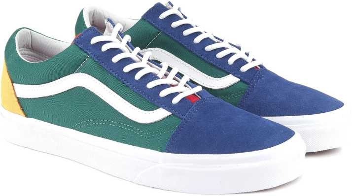 9d0fb08138 Vans Old Skool Sneakers For Men - Buy (Vans Yacht Club) blue green ...