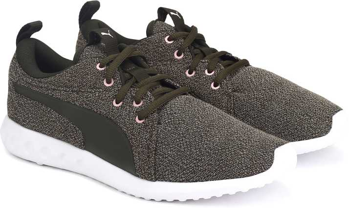 ed0df621d0b49c Puma Carson 2 Knit NM Wns Walking Shoes For Women - Buy Forest Night Color Puma  Carson 2 Knit NM Wns Walking Shoes For Women Online at Best Price - Shop ...