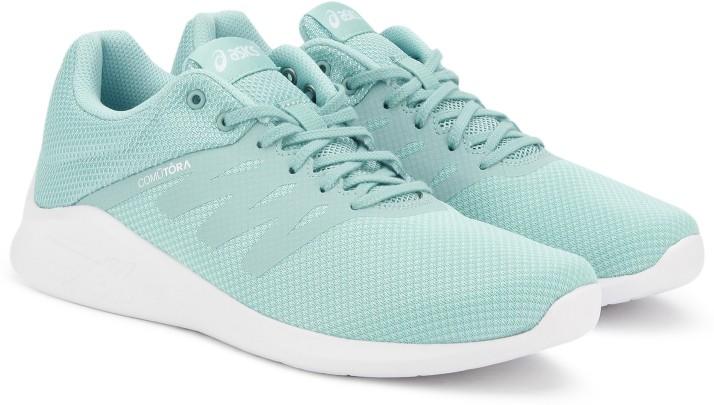 asics comutora womens mesh running shoes womens