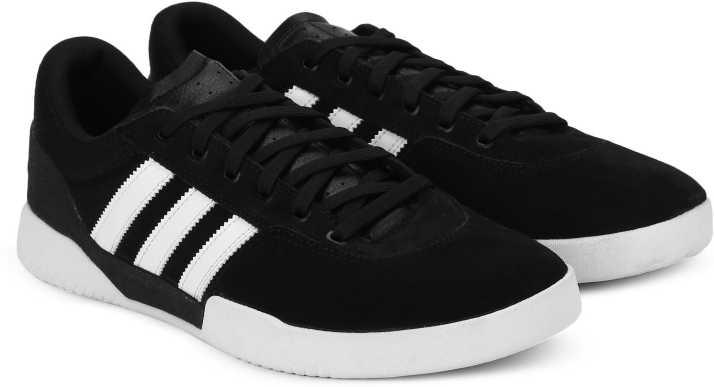 new product e53c7 897d7 ADIDAS ORIGINALS CITY CUP Sneakers For Men (Black)