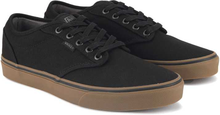Vans Atwood Sneakers For Men - Buy (12 oz Canvas) black gum Color ... 4410a44721