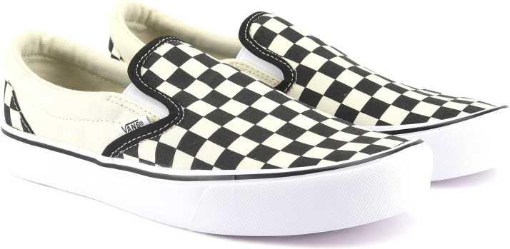dd27d08c39d Vans Slip-On Lite Slip On Sneakers For Men - Buy (Checkerboard ...