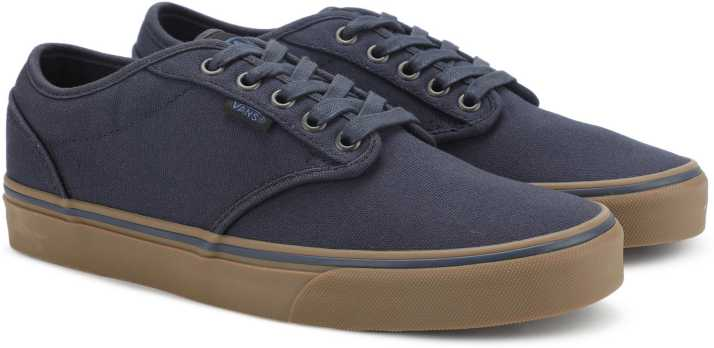 d51f75ba986e Vans Atwood Sneakers For Men - Buy (12 Oz Canvas) Navy Gum Color ...