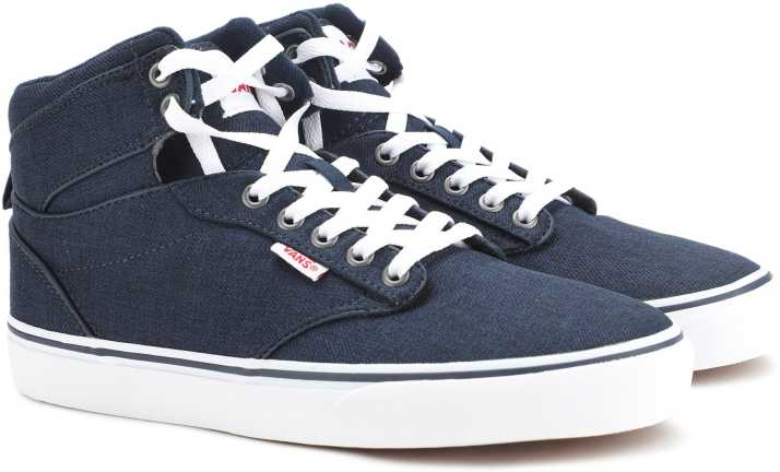 3ef063f791cc Vans Atwood Hi Sneakers For Men - Buy (S18 Menswear) Dress Blues ...