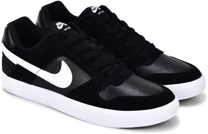 e1269de82d Nike SB DELTA FORCE VULC SS 19 Sneakers For Men - Buy  BLACK/WHITE-ANTHRACITE-WHITE Color Nike SB DELTA FORCE VULC SS 19 Sneakers  For Men Online at Best ...