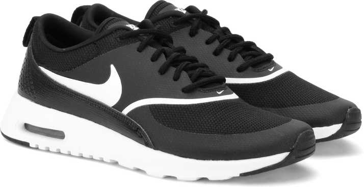 buy online ae786 50026 Nike WMNS AIR MAX THEA Running Shoes For Women - Buy BLACK/WHITE ...
