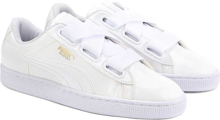 sale retailer aff15 c2a88 Puma Basket Heart Patent Wn s Sneakers For Women