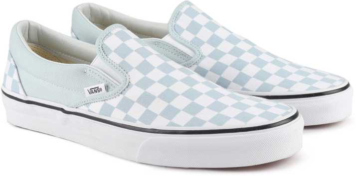 f282771a4e Vans Classic Slip-On Loafers For Men - Buy (Checkerboard) baby blue ...