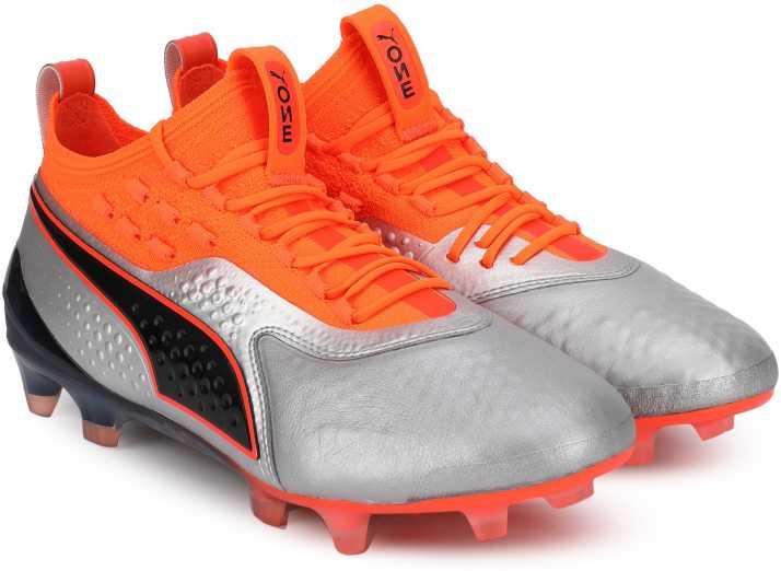 d165d759bb6 Puma ONE 1 Lth FG AG Shockin Football Shoe For Men - Buy Puma ONE 1 ...