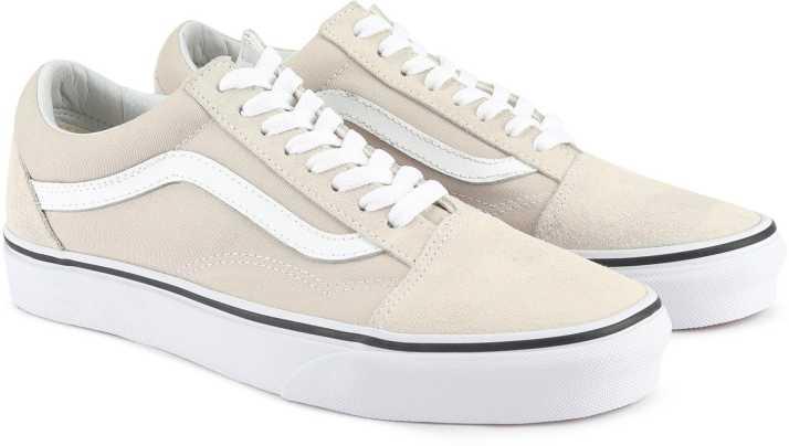 94b825d92c Vans Old Skool Sneakers For Men - Buy silver lining true white Color ...