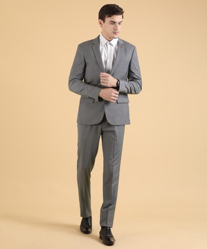 Arrow Casuals Solid Men Suit