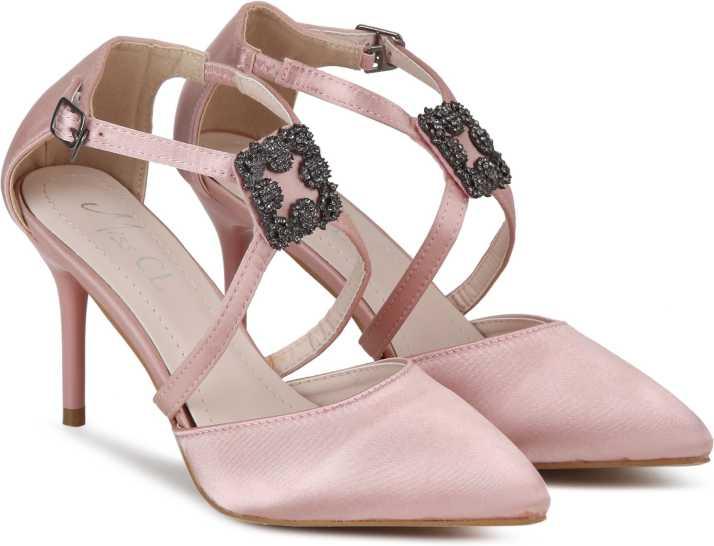fb3e6622e Miss CL By Carlton London Women Pink Heels - Buy BEIGE Color Miss CL By  Carlton London Women Pink Heels Online at Best Price - Shop Online for  Footwears in ...
