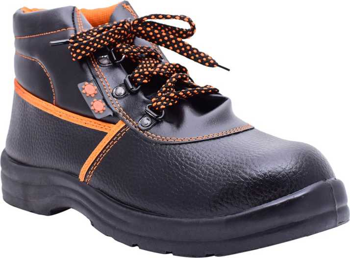 a85a4670f99 Indcare Aero High Ankle Safety Shoes Boots For Men