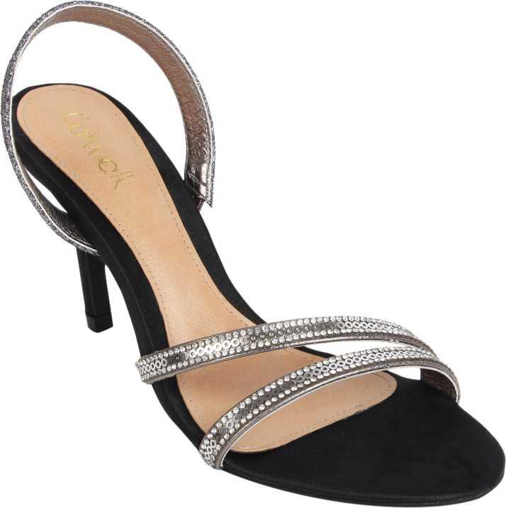 8a35b25a1c158 Catwalk Women Silver Heels - Buy Catwalk Women Silver Heels Online at Best  Price - Shop Online for Footwears in India